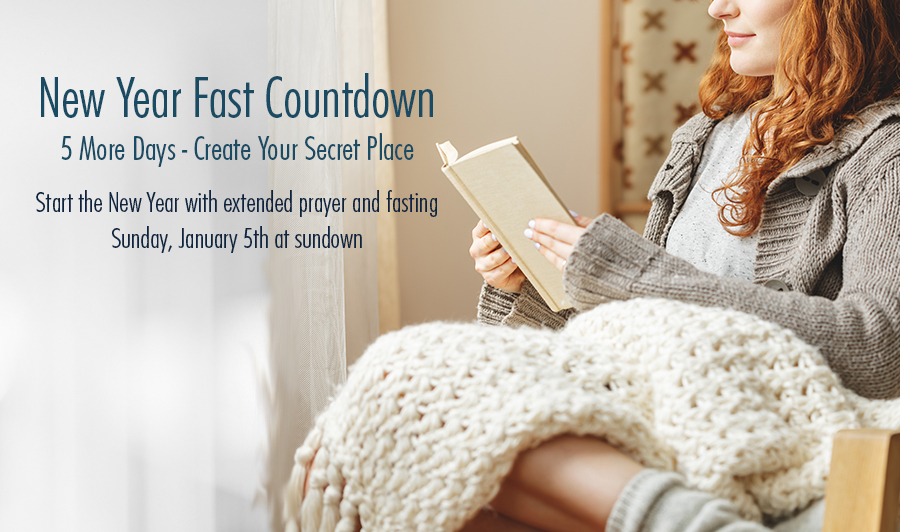 The New Year Fast 2021 Countdown – 5 More Days