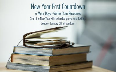 The New Year Fast 2020 Countdown – 6 More Days