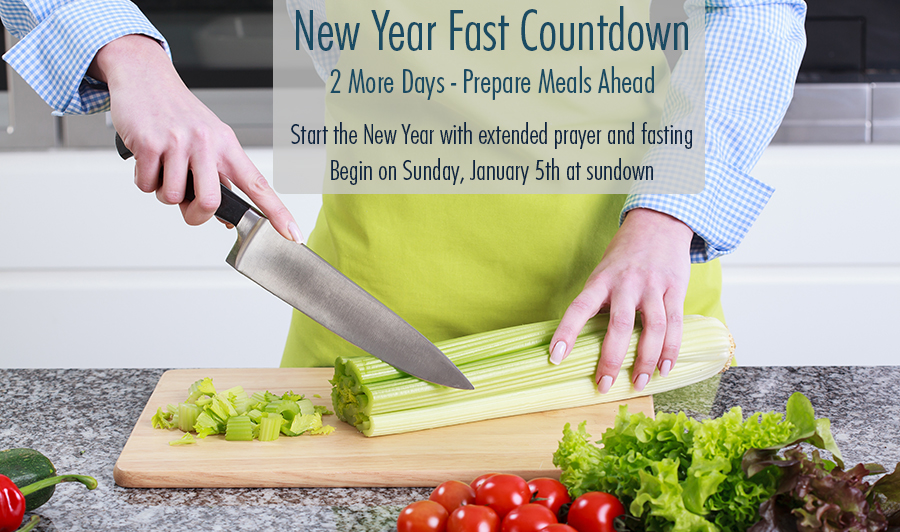 The New Year Fast 2021 Countdown – 2 More Days